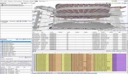 Uso de SMC para clasificación, extracción de mediciones y generación de datos COBie por John Robertson Architects