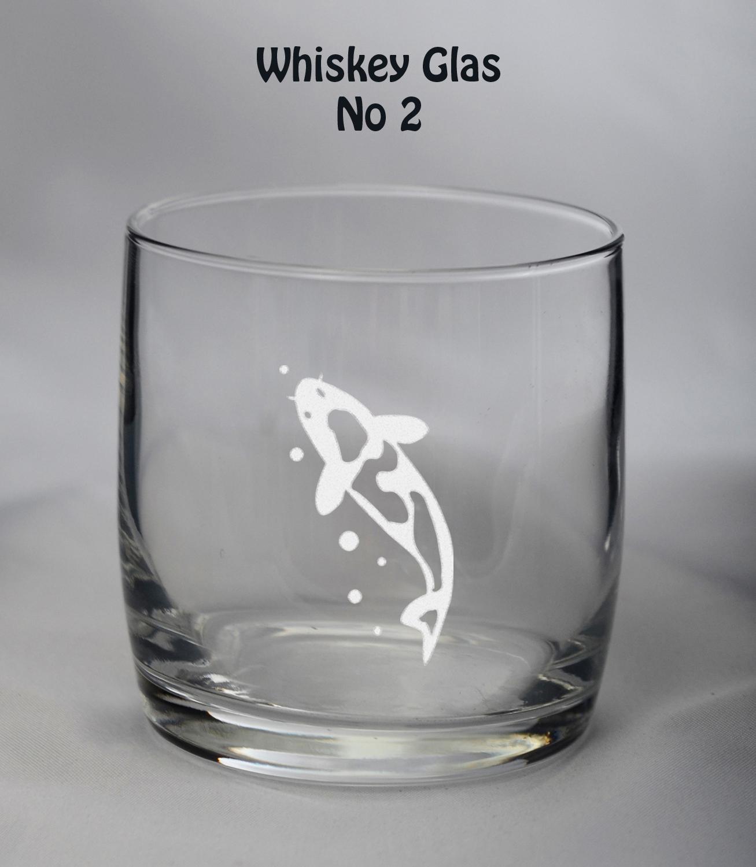 Whiskeyglas Koi