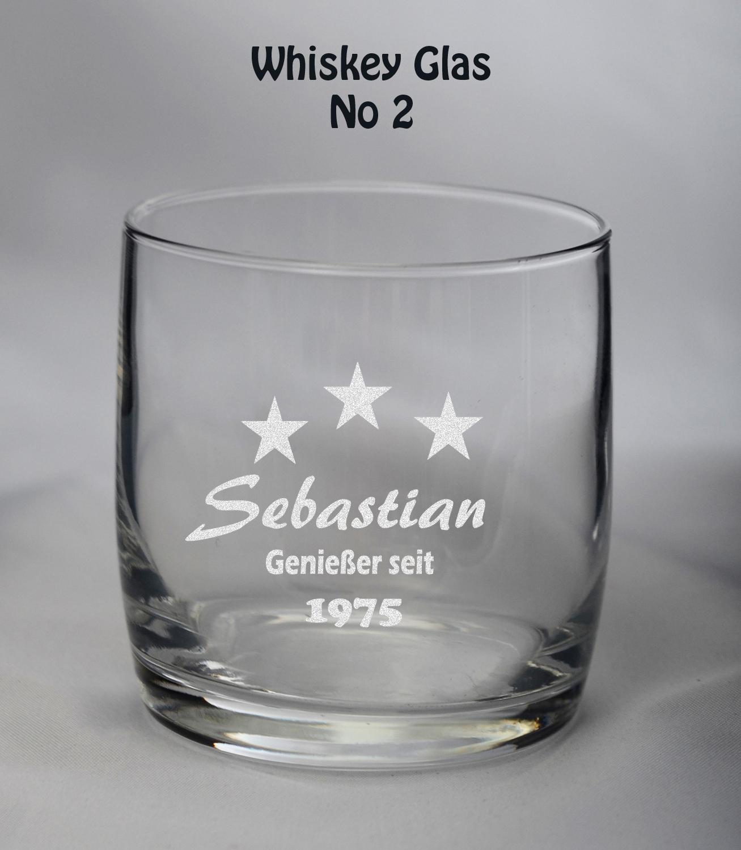 Whiskeygläser mit Motiv