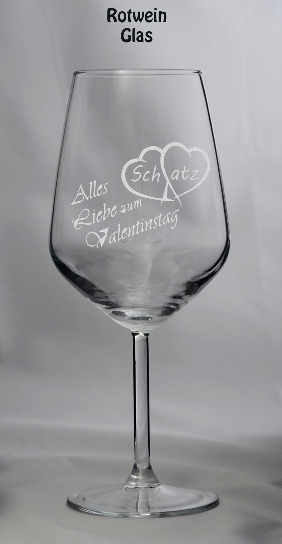 Valentins-Glas