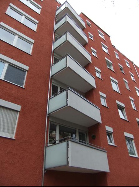 Neue Balkone machen was her in München-Schwabing