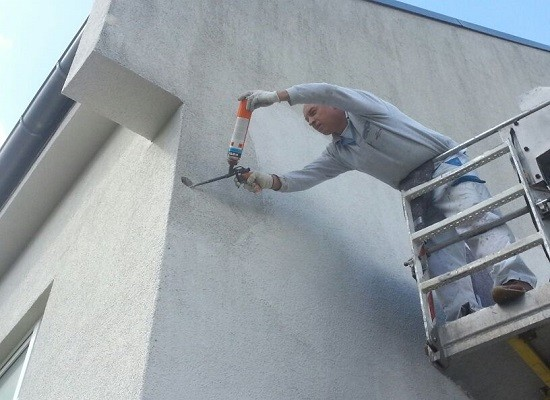 ... werden Spechtlöcher fachgerecht repariert und verschlossen