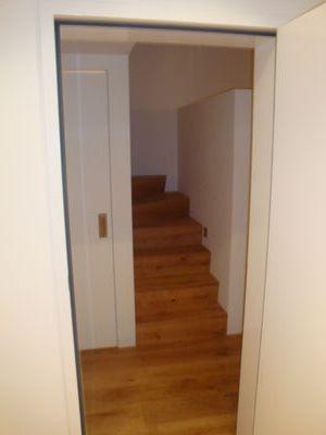 Trockenbau - damit Neues entstehen kann - im Treppenhaus