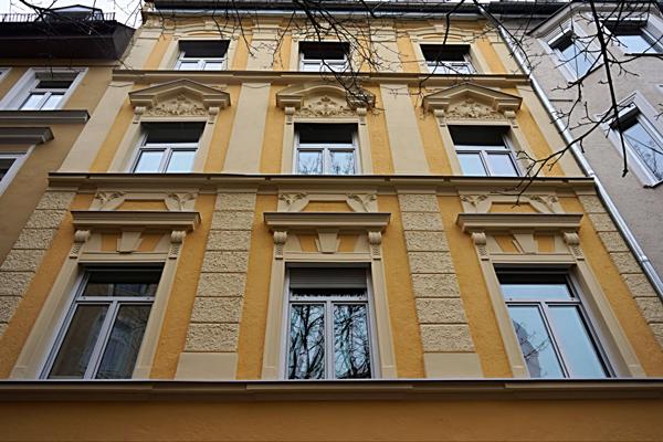 Stuck-Fassade in München - Qualität vom Meisterbetrieb Wörle