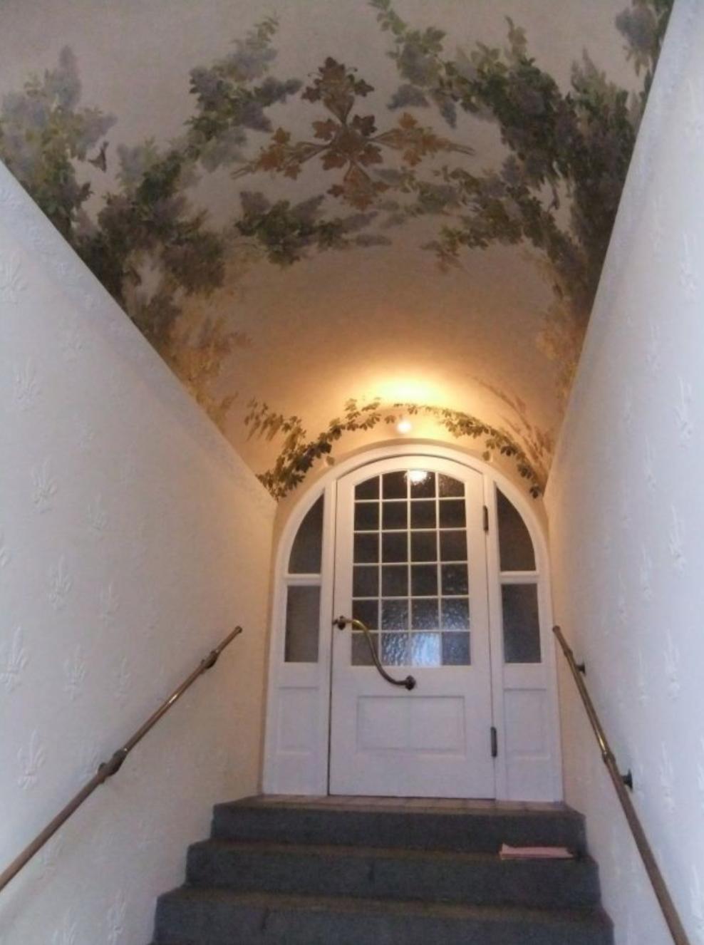 Dekorative Renovierung eines historischen Treppenhauses