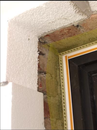 Vollwärmeschutz Wärmedämmung von Fassaden