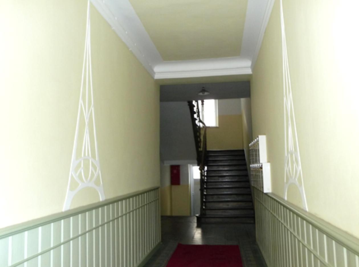 Sehr gelungene Neugestaltung eines Treppenhauses