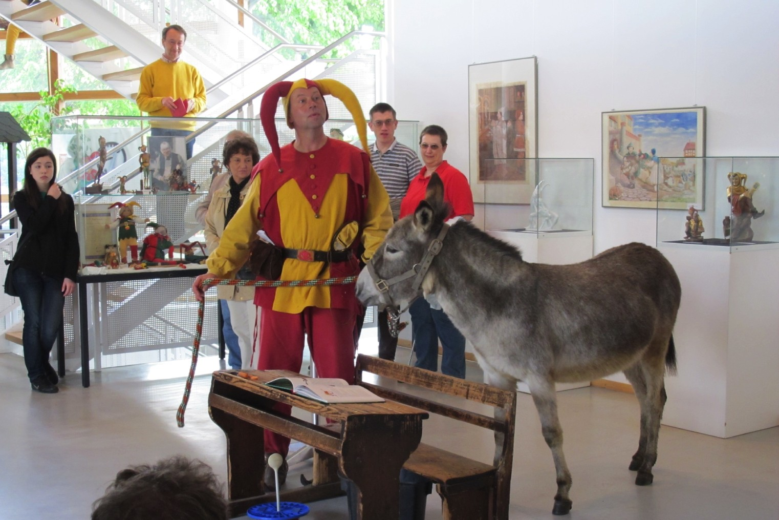 Esel im Till Eulenspiegel Museum