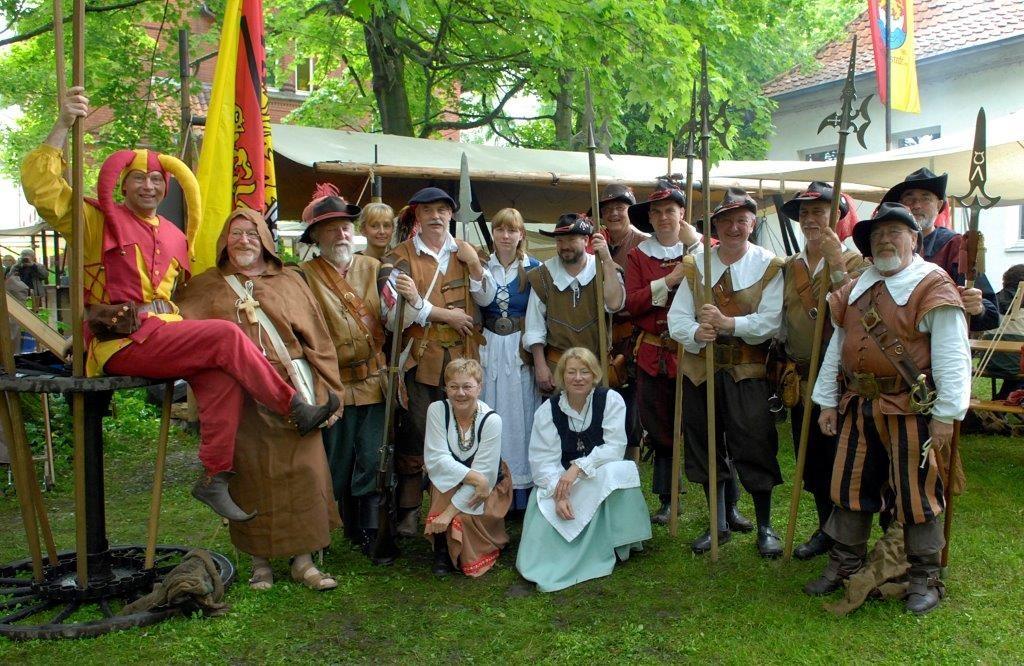 Bei der Historischen Bürgerwehr Schöppenstedt