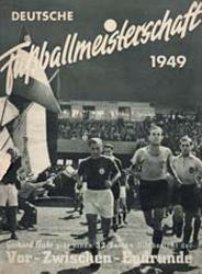 Deckblatt zur Saisonzeitschrift 1948/1949 (Bild: Archiv Eric Lindon)