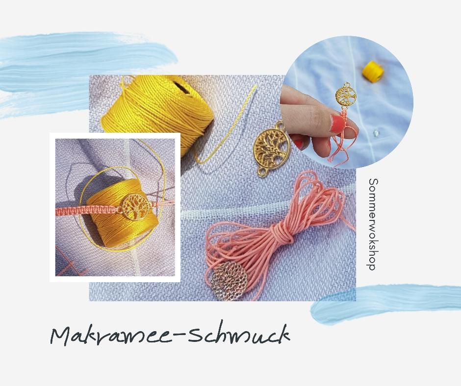 Makramee-Schmuck Fotokredit: E.Kunz/Perlenreich