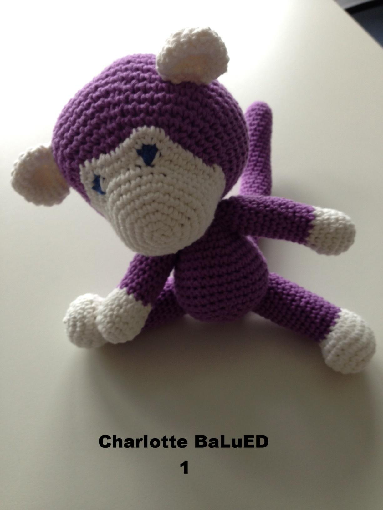 Affe: Charlotte BaLuEd 1 / Artikel-Nr. 3000.000