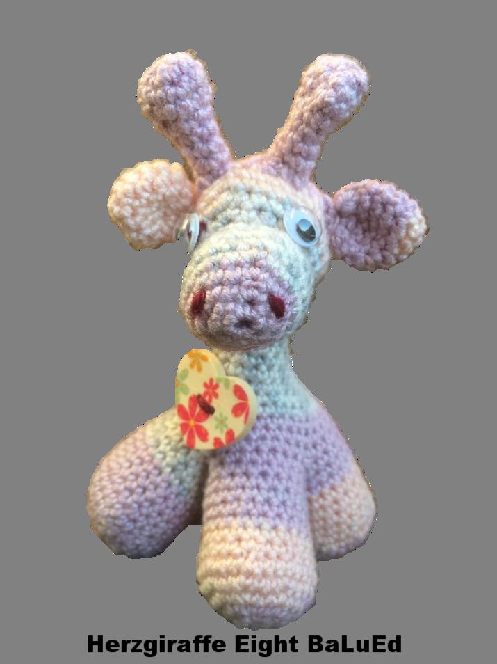 Giraffe: Herzgiraffe Eigth BaLuEd / Artikel-Nr. 3021.000
