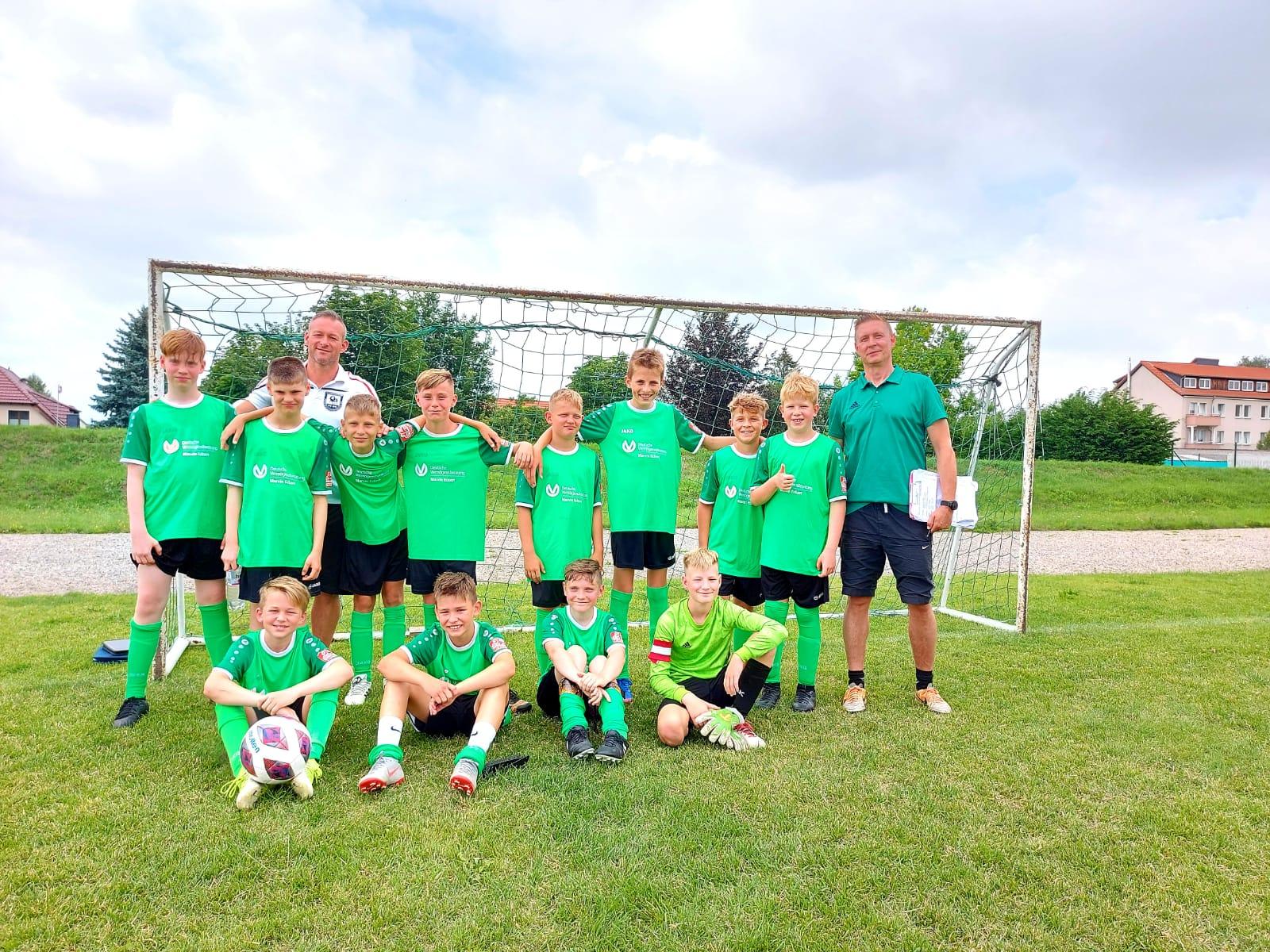 Fußballturnier Wanderpokal in Heudeber D-Jugend Jahrgang 2008/2009.