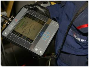 Praktischer Einsatz des Schwingungsmessgeräts CSI 2140