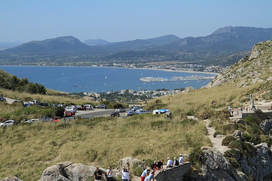 Blick auf Puerto de Pollensa