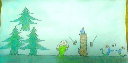 森の小人ジョーイの旅の画像