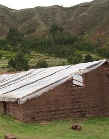 Serre intégrée dans le paysage : Rayanniyoc (Cusco - Pérou)