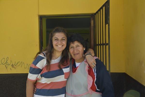 Alina avec Francesca
