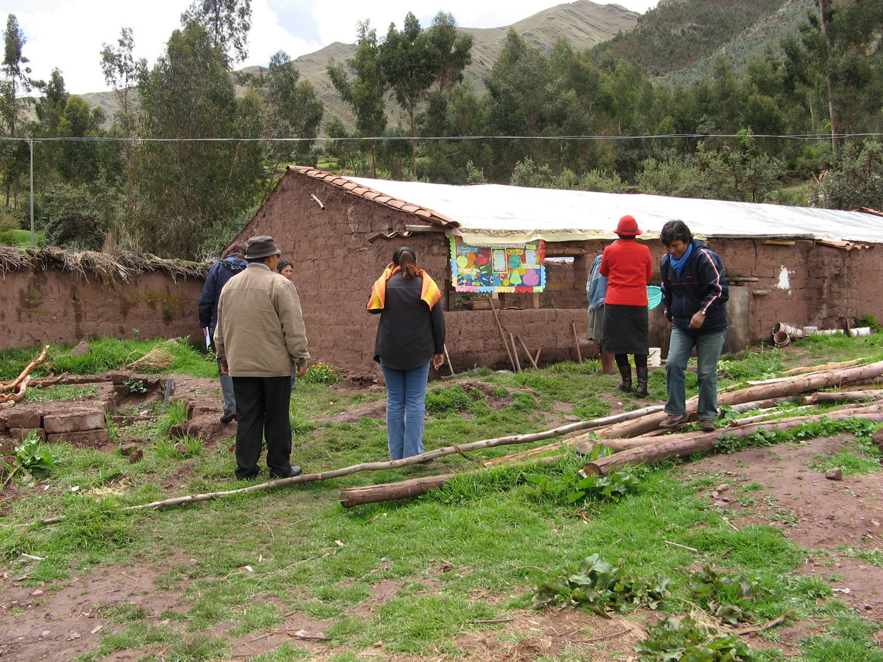 Potager Educatif de Matinga - Cusco - Pérou © Econtinuidad