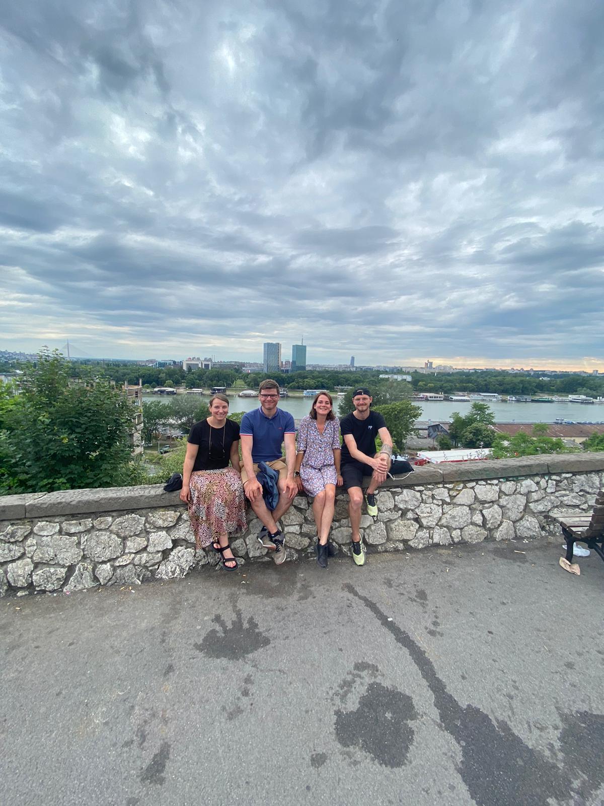 Ein Wiedersehen mit unseren Reisebuddies in Belgrad