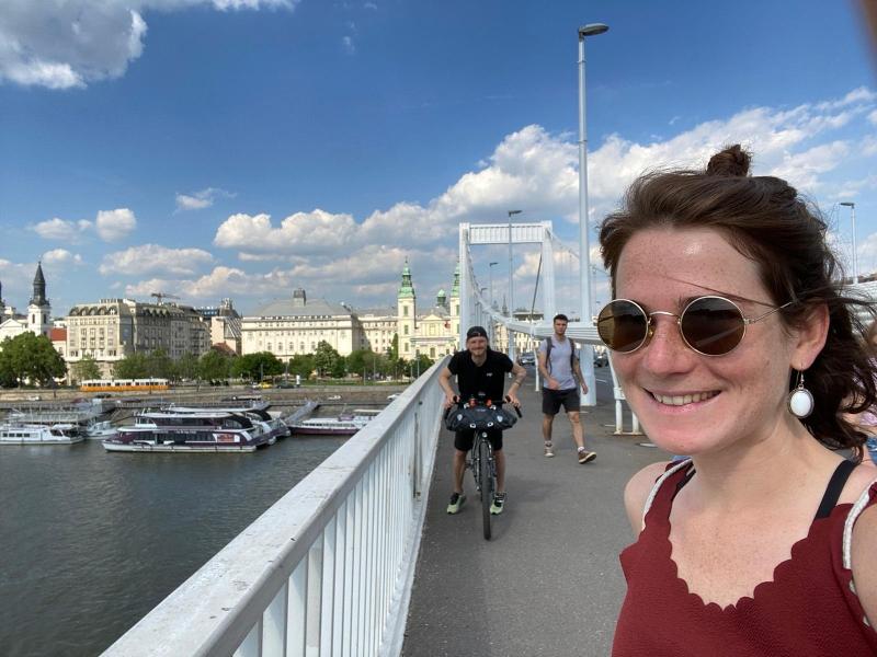 Viel zu sehen gab es auf der Cycleseeing Tour durch Budapest