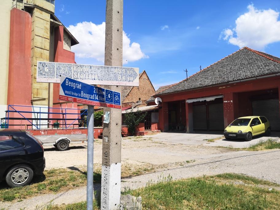Auf den Weg Richtung Rumänien durchquerten wir viele kleine Dörfer