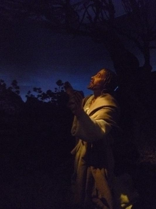 Gesù nell'orto degli ulivi_di G.Crivelli