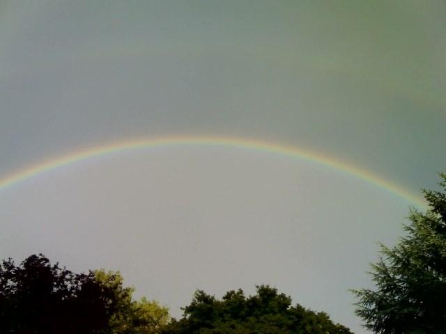 Regenbogen über Hoeilaart