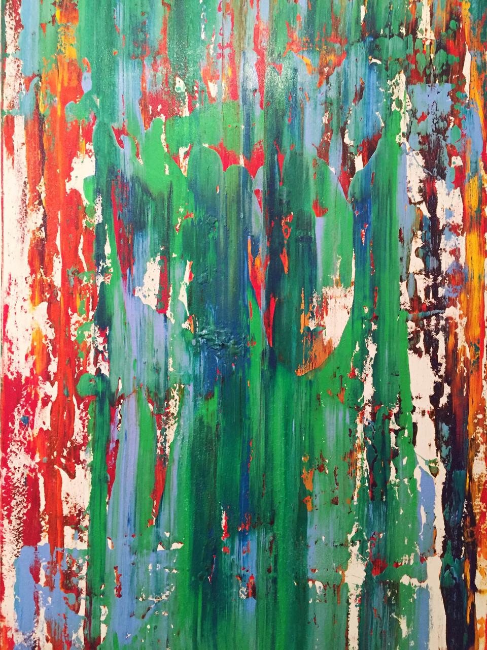 UP&DOWN/Acryl auf Leinwand 100 x 150
