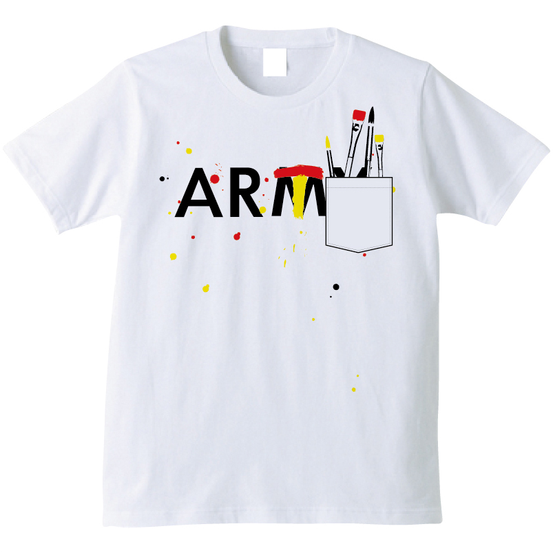 BEAMS社 ARMY? ART Tシャツ