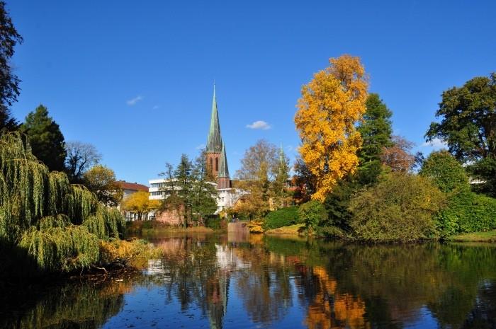 Im Oldenburger Stadtpark