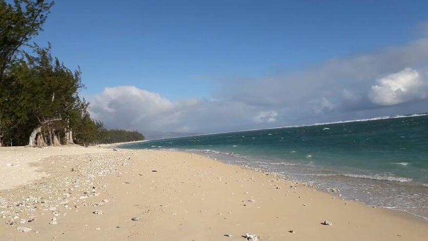 Vue sur la plage Hermitage, JPK Formation