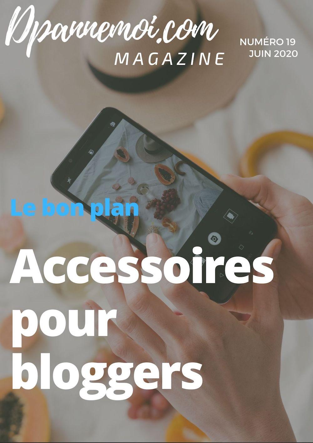 Des accessoires indispensables pour votre Blog