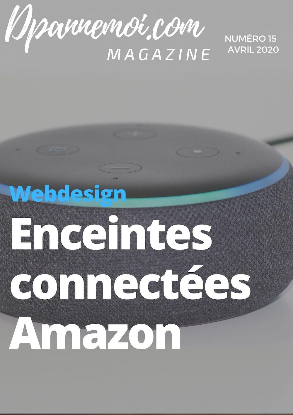 Les enceintes connectées Amazon, découvrez la gamme !