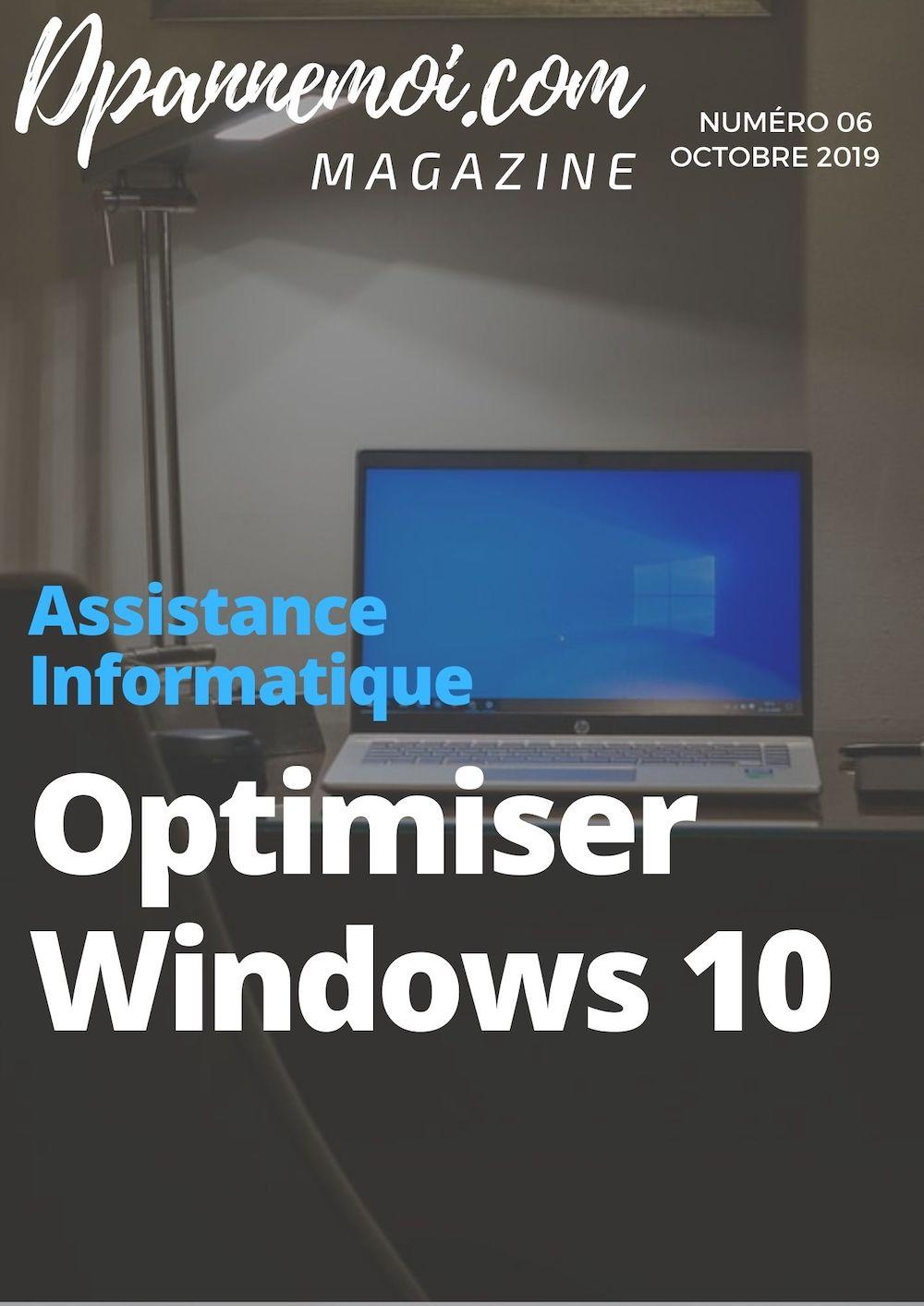 Optimisez Windows 10 et gagnez en rapidité