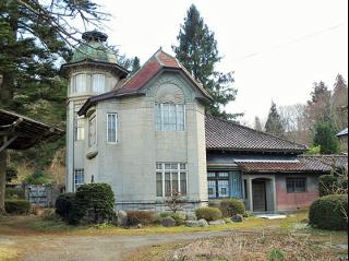 ユーゲントシュテール風の別邸