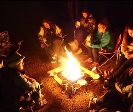 灯り計画の原点 ~焚き火の灯りに人が集まる訳~