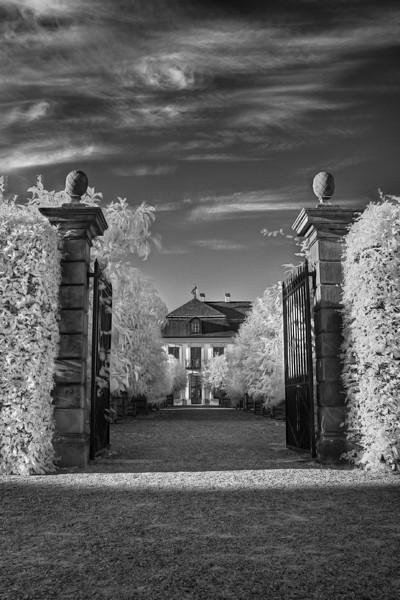Infrarotaufnahme in den Herrenhäuser Gärten