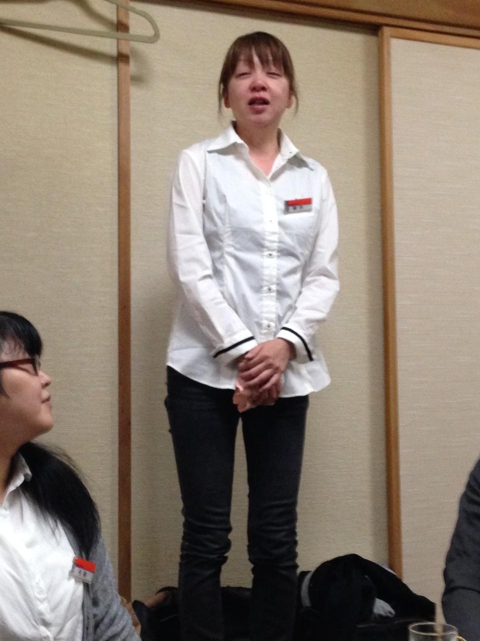 最初から最後まで号泣のブック部門藤井さん