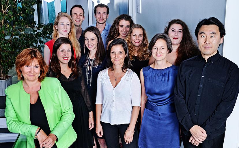 La promotion «2017-2018 » avec l'équipe pédagogique | Photo © Christel Mauve