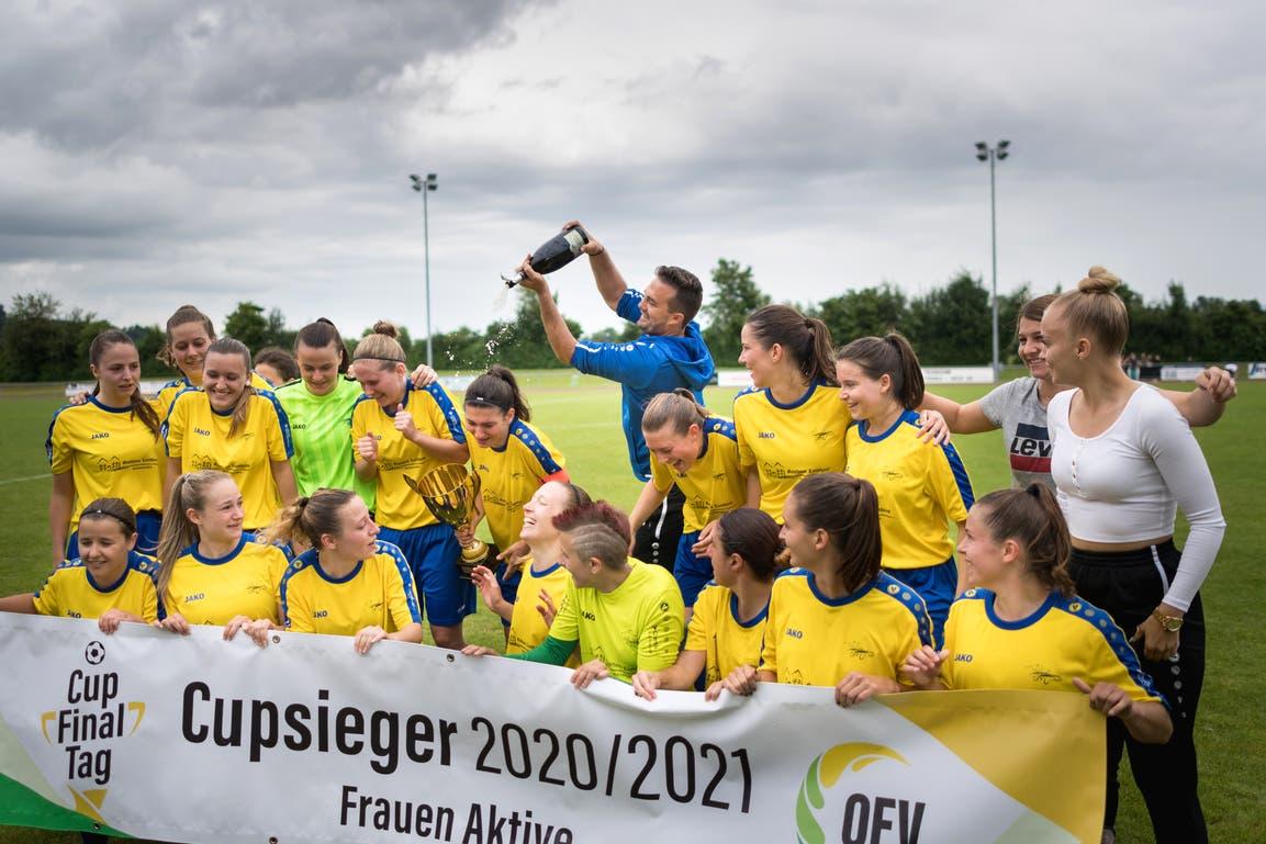 Der FFC Uzwil 1 ist Cupsieger