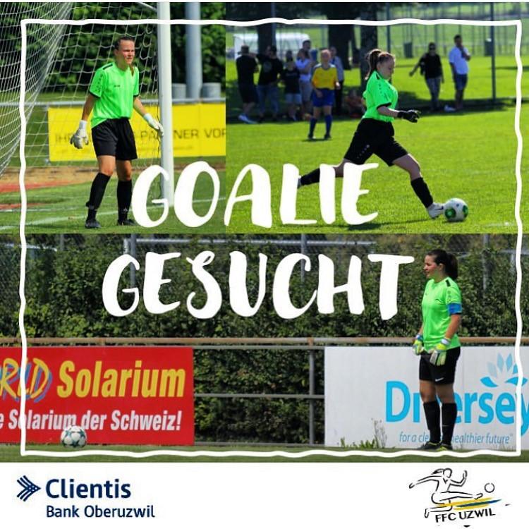 Goalie gesucht!
