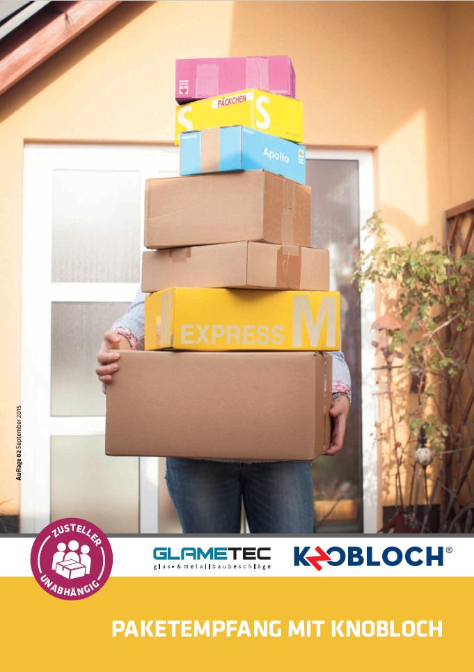 Katalog PAKNO - Paketfachanlagen, Paketboxen, Briefkästen und Paketbriefkasten