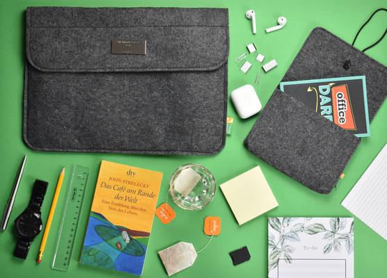 Mac´s Liebling - MacBook Filz Tasche