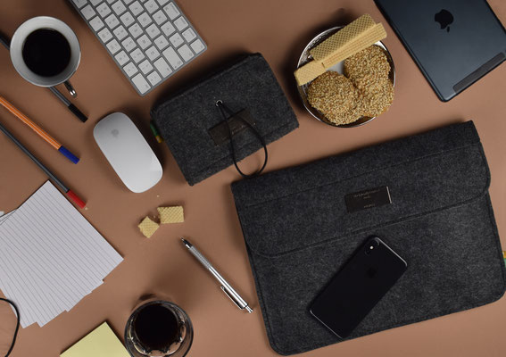 Mac´s Liebling - Filz Hülle MacBook 13 Zoll