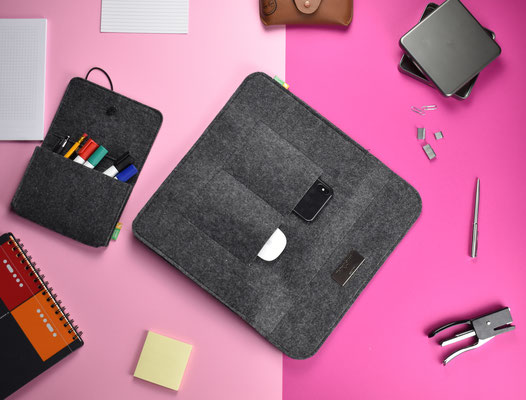 Mac´s Liebling - MacBook Tasche Filz
