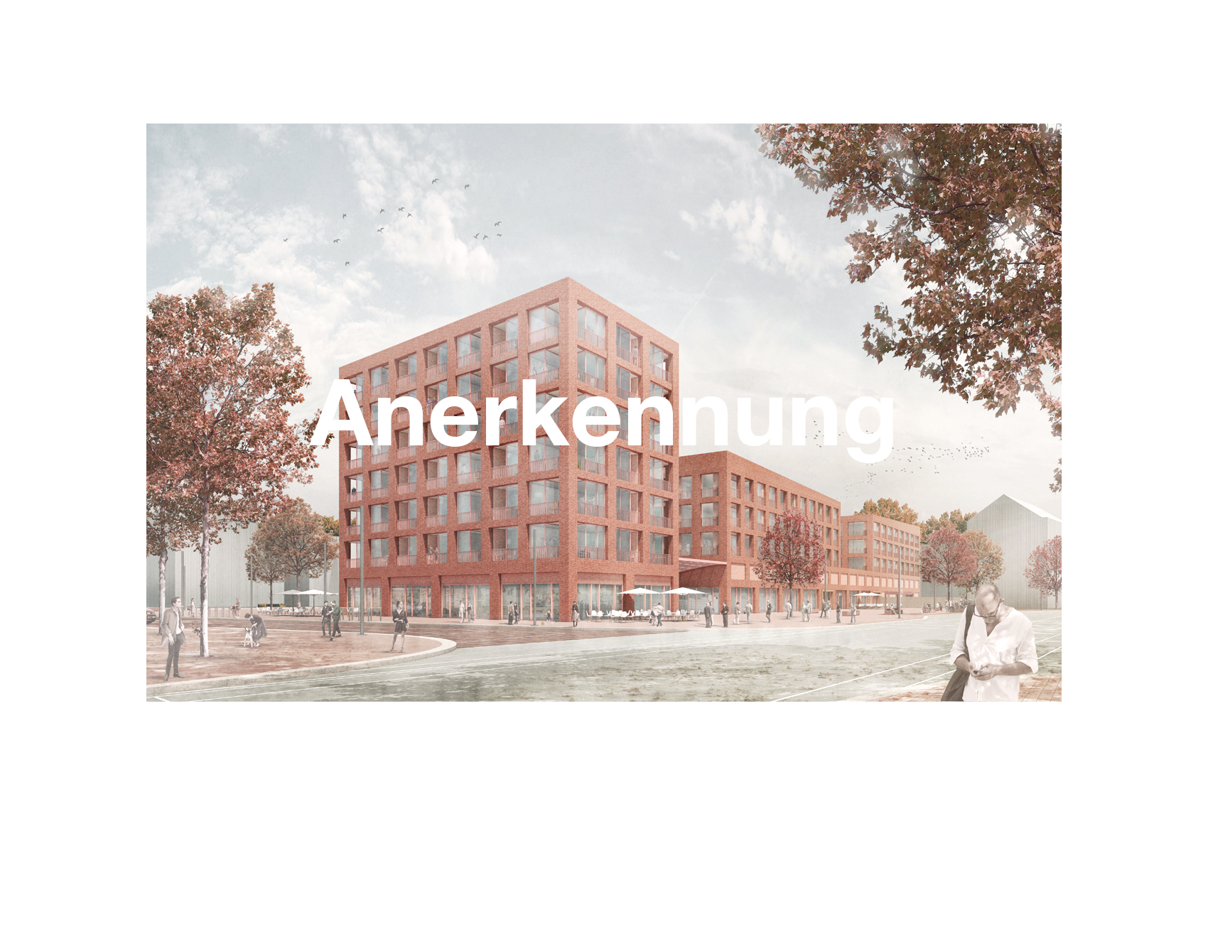 """08/2019<br>Für den Wettbewerbsbeitrag in der Wasserstadt Limmer - Hannover wurden HERR & SCHNELL mit Mars Architekten und<br> grabner huber lipp landschaftsarchitekten mir einer Anerkennung ausgezeichnet.<br><br><a href=""""/limmerhannover"""">Projekt</a>"""