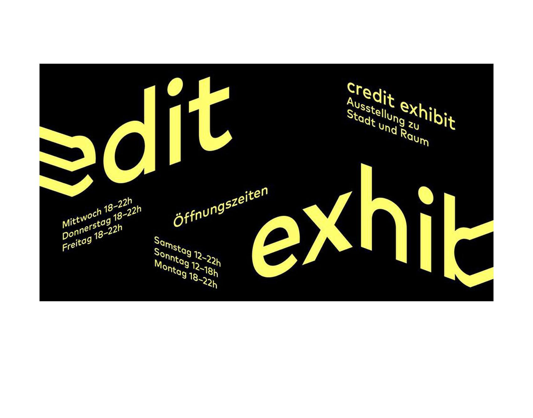 """10/2018<br>Unser Projekt """"Europan 14 - productive city"""" wird auf der Credit ausgestellt.<br>Ihr seit alle eingeladen zum anschauen und mitfeiern!<br><br><a href=""""http://www.credit-exhibit.de""""target=""""_blank"""">credit exhibit</a> – <a href=""""/e14"""">Projekt</a>"""