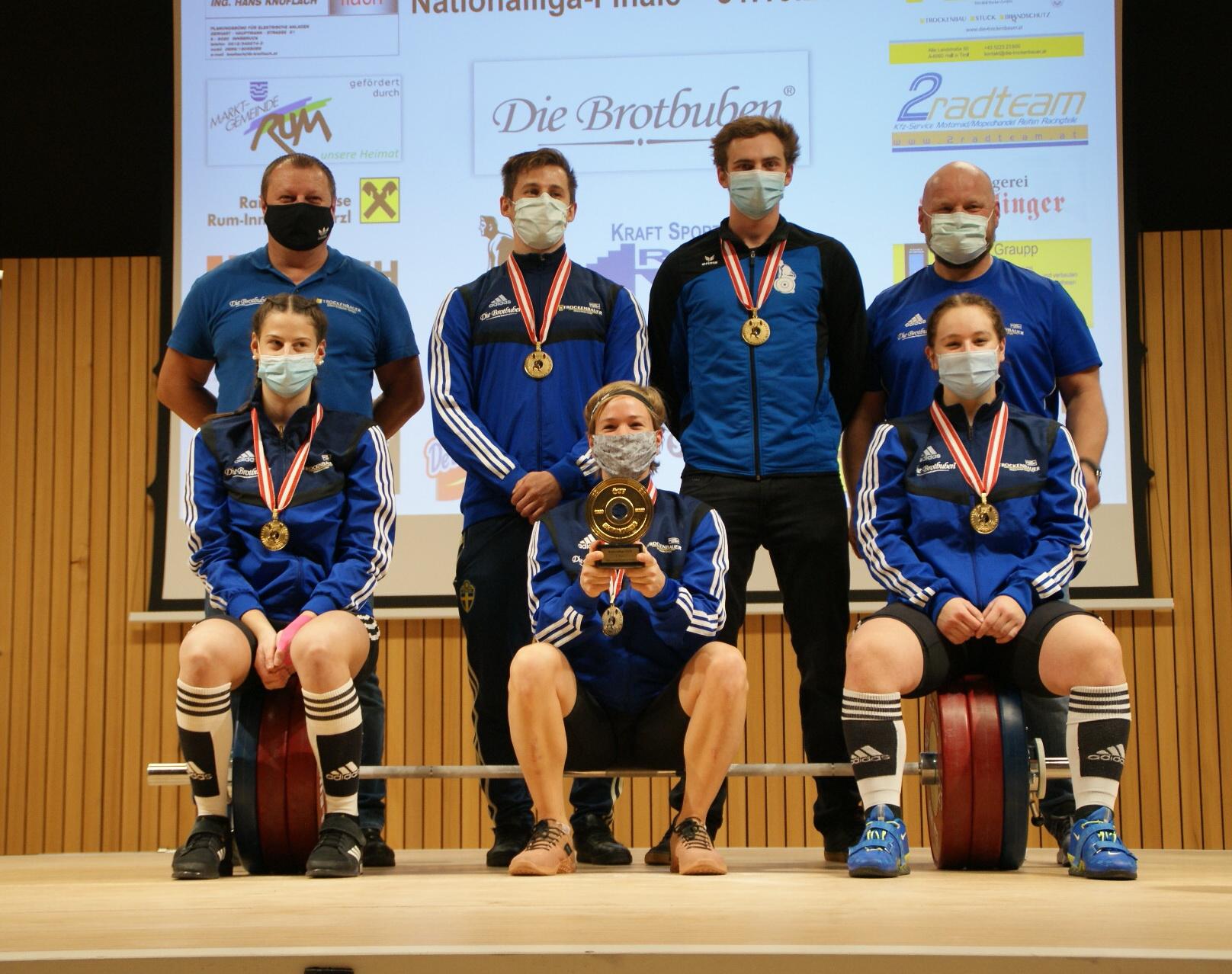 31.10.2020 - WKG Bad Häring - RUM ist Nationalliga-Meister 2020